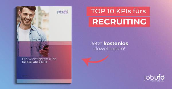 TOP 10 KPIs fürs Recruiting